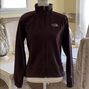 North face rich chocolate brown pull over
